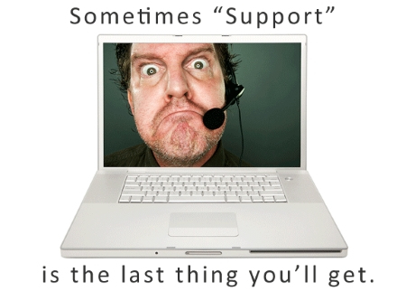 bad technical support
