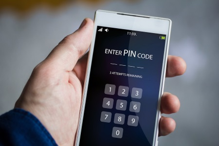 password protect your phone