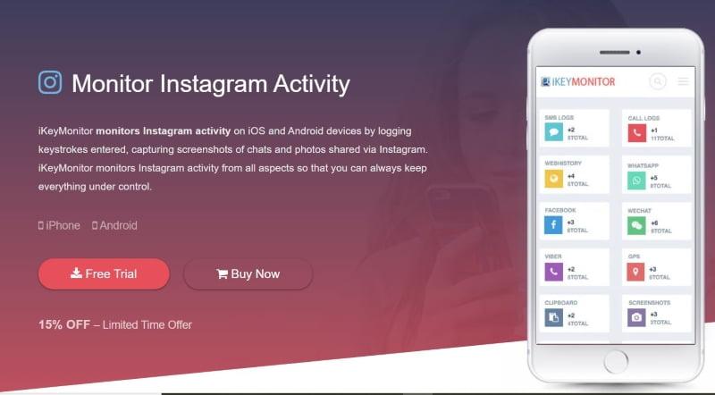 iKeymonitor Instagram