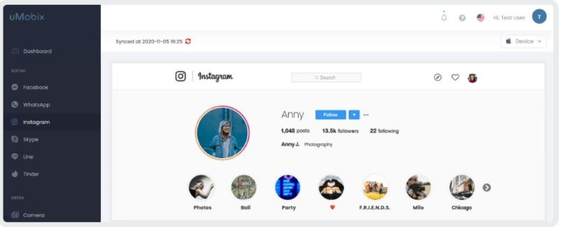 umobix instagram