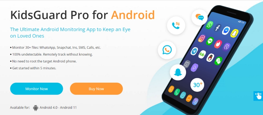 kidsguard pro android
